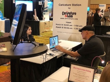 Picture of Caricature Drawing Station